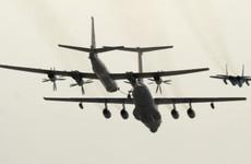 British fighter jets scrambled to intercept Russian bombers