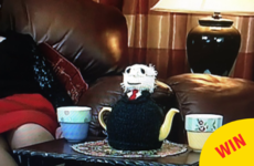 Everyone in Ireland wants this Michael D Higgins tea cosy spotted on Gogglebox