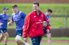 Keatley in at full-back as Munster make 5 changes for first Thomond outing