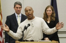 Thomas Haynesworth exonerated after 27 years in US prison for rape