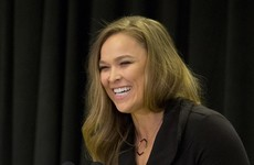 Rousey's coach says she could make her comeback in a title bout this year