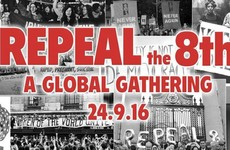 Here's how Irish emigrants in 23 cities are showing their support for Repeal The 8th today