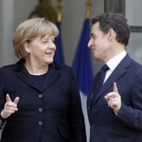 'Merkozy' urge common taxes ahead of EU summit