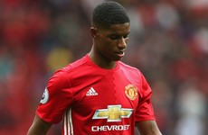 Lack of Manchester United game-time 'frustrating' for Rashford