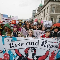 Pictures: Thousands throng Dublin city centre for pro choice rally