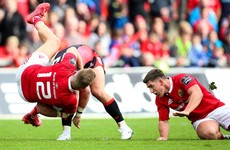 Murray sniffs out two tries to help Munster claim bonus point win over Edinburgh