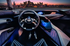 Lexus' new holographic dashboard is a sight to behold