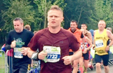 Damien Duff was one of the 9000 pounding the pavement in yesterday's Dublin half marathon