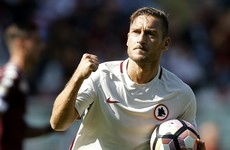 Totti blasts in 250th Serie A goal, but  Roma lose to Joe Hart and Torino