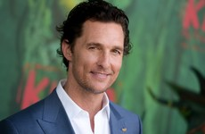 Matthew McConaughey says he wants to send his kids to the Gaeltacht