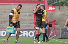 Edinburgh lock cited for charge that forced Jack O'Donoghue off injured at Thomond Park