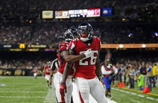 Monday Night Football: Atlanta Falcons soar to pile on the misery for winless Saints