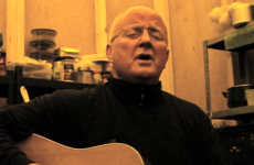 WATCH: Christy Moore sings 'Ride On' at Occupy Dame Street