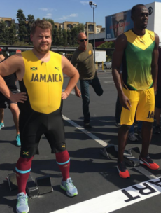 Usain Bolt puts his 'fastest man on the planet' title on the line to race James Corden