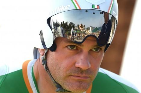 Colin Lynch won silver in Rio.