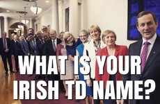 What Is Your Irish TD Name?