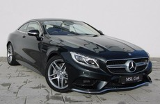 If I had the money I'd buy a... Mercedes S-Class Coupe