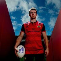 The sniff of competitive rugby has Peter O'Mahony straining at the leash