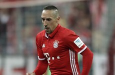 Franck Ribery loses appeal after book 'scum' slur