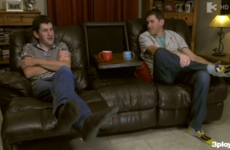 The Cavan twins' story about 'meeting' Hillary Clinton on tonight's Googlebox was brilliant