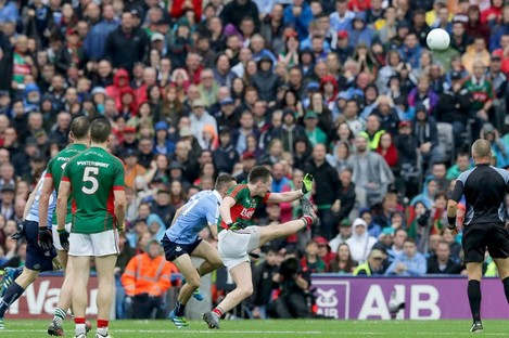 Cillian O'Connor's point for Mayo levelled the drawn game.