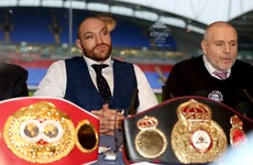 Tyson Fury could be stripped of belts after testing positive for cocaine - reports