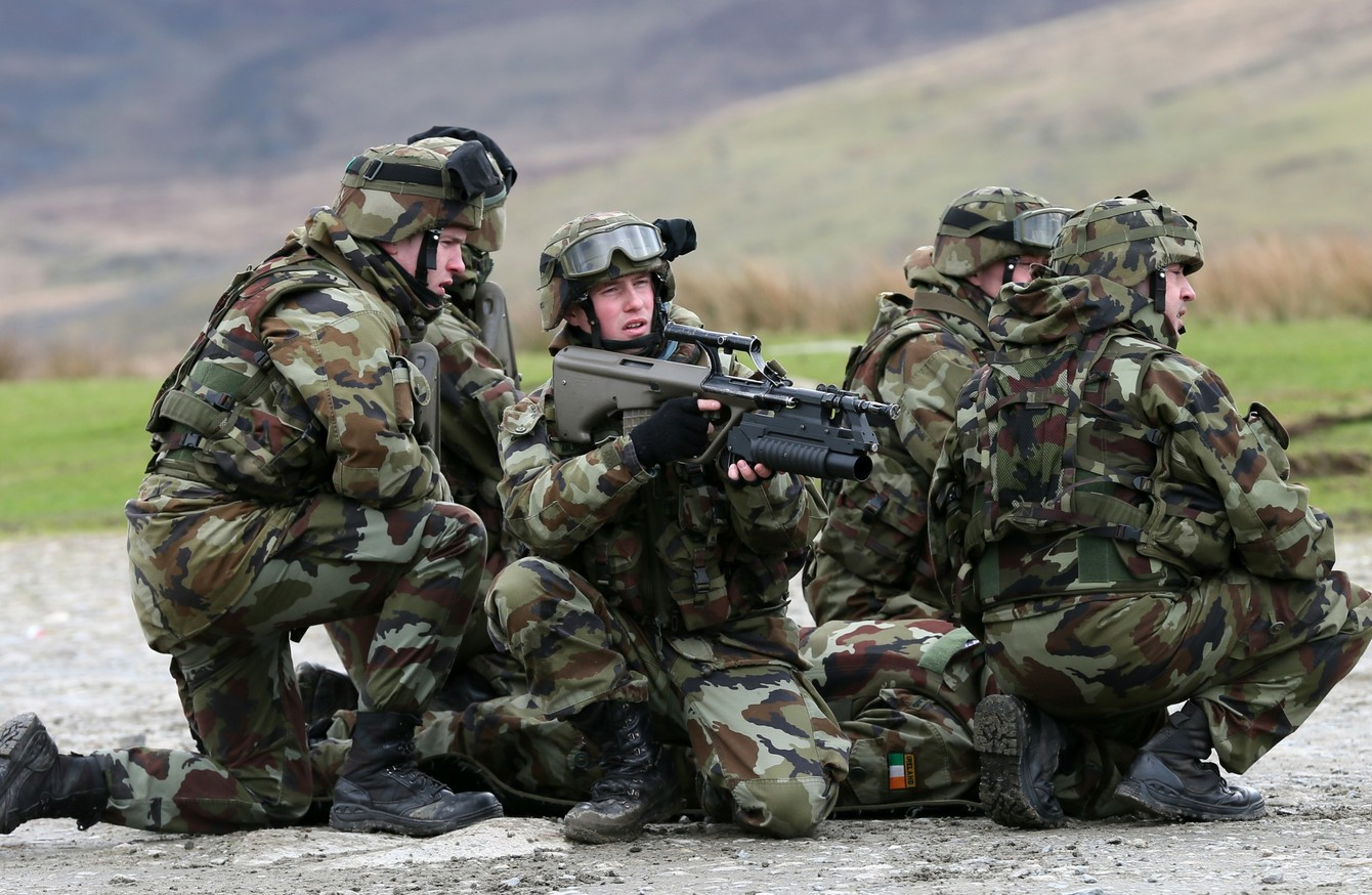 'You're in the Irish Army Now' : New Recruits Train in the Glen of Imaal