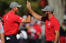 US rout Europe in foursomes to surge into 4-0 Ryder Cup lead