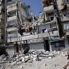 """Warnings of humanitarian catastrophe as bombing turns city into a """"giant kill box"""""""