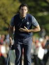 Rory McIlroy leads European comeback but US lead  5-3 after first day of Ryder Cup