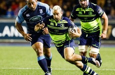 Sexton kick seals hard-fought Leinster win in Cardiff
