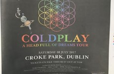 It's official - Coldplay are coming to Croke Park next summer