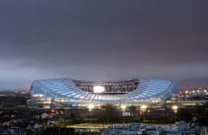 Welcome back: Lansdowne Road looks set for visit of Three Lions