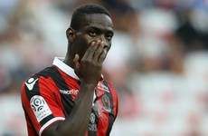 Balotelli scores last-gasp winner and then sees red as Nice go top of Ligue 1