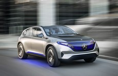 Mercedes-Benz gives a look at its all-electric car of the future