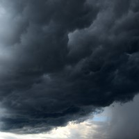 It is set to pour from the heavens overnight in the west and the south