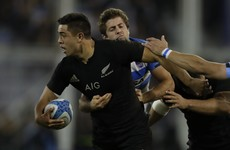 Inexperienced All Black centre showed the handling skills that make him anything but a weak link