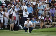 Rory McIlroy fades in Dubai as Donald on track