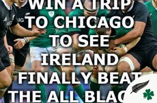 QUIZ: Win A Trip To Chicago To See Ireland Finally Beat The All Blacks (Hopefully)