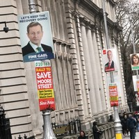 Fine Gael TD fined €3,000 for littering with 'Keep the recovery going' posters