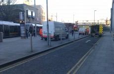 Disruptions to Luas Red Line after car strikes tram