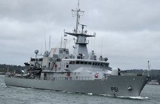 Irish navy rescues 220 people from the Mediterranean