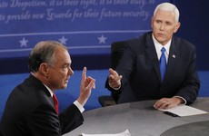 Trump's number two scores points as Vice-Presidential nominees square off