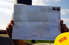 An Post just delivered this letter with a hand-drawn map instead of an address to Wexford