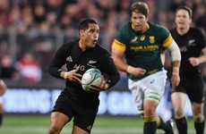 All Black scrum-half suspended after 'entering airport toilet cubicle with female'