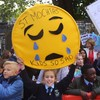 Over 500 parents and children protest at the Dáil over delayed school build