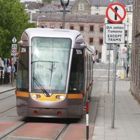 Delay on Luas line as gardaí called to deal with disruptive passenger