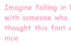 Imagine Falling In Love With Someone And Finding Out...
