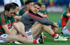 'Sadness and regret fill me,' writes Lee Keegan in message to Mayo fans