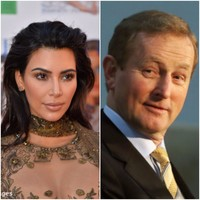 """Over here, we will mind you"": Enda Kenny invites Kim Kardashian to Ireland after robbery"